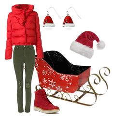 """""""SLEIGH RIDE"""" by mineemoe-1 ❤ liked on Polyvore featuring Givenchy, Miss Selfridge, Timberland and Kim Rogers"""