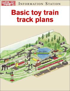 Track plans from Classic Toy Trains Ho Scale Train Layout, Ho Scale Trains, Model Train Layouts, Model Trains, Toy Trains, Train Set, Train Tracks, Classic Toys, High Speed