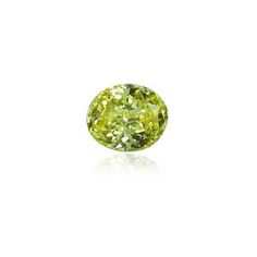 0.45 ct Yellow Oval Modified Brilliant Diamond  Nicely proportioned very bright, great depth of colour, very nice!