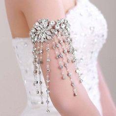 Crystal Bridal armband Crystal bruids sieraden bruiloft door ctroum