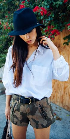 Fabulous Street Style ~  #fashion, #clothes, #streetstyle, #hats, Neon Blush, A Personal Style Blog By Jenny Ong by Neon Blush