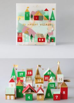 Countdown to Christmas Traditional Advent Calendars Advent