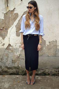 Elegancia y sofisticación. Un 10 en mi opinión a este estilismo