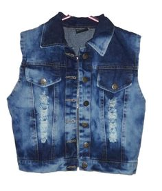 Ladies/Women/Girl/Top/Cotti/Blazer/Denim Open Jacket