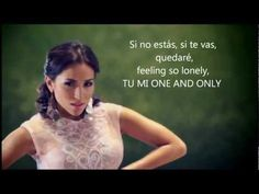 Mi One and Only - Ana Isabelle (letra) - YouTube