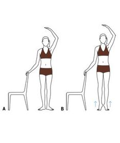 Quick and Easy Workout: Ballet Barre Calf Raises #exercise #fitness