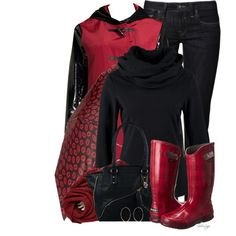 A fashion look from November 2014 featuring Bench sweaters, Jane Post coats and Mavi jeans. Browse and shop related looks.