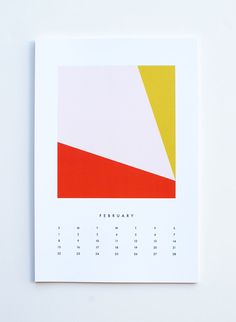 2015 calendar colors by dozi on Etsy
