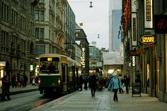 i miss this...hustle and bustle of the city amongst tall buildings and shops all around.