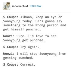 Why is Woozi so violent?