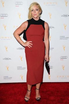 Jane Krakowski - Television Academy Celebrates The Emmy Award Nominees in Beverly Hills, Jane Krakowski Style, Outfits and Clothes. Famous Celebrities, Celebs, Jane Krakowski, Audi, Guys And Dolls, Height And Weight, Girl Humor, American Actress, Peplum Dress