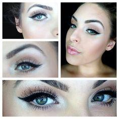 Wedding makeup #wedding #makeup #wingedeyeliner ... For more looks follow me on instagram- paperbagbeauty