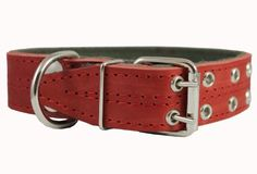 Genuine Leather Dog Collar Padded Red 15 Wide Fits 1822 Neck Size Cane Corso Doberman * See this great product.Note:It is affiliate link to Amazon. #trendy