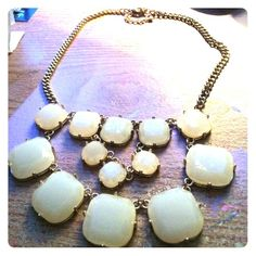 Statement Necklace Ivory statement necklace Jewelry Necklaces