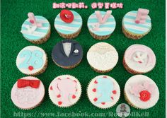 https://www.facebook.com/RollRollKelly#杯子蛋糕 #翻糖蛋糕#cupcake # cake