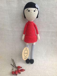 AMELIE  Crochet Doll Amigurumi Doll Handmade Doll by Manuska