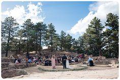Sunrise Amphitheater Wedding on Flagstaff Mountain  http://www.raynamcginnisphotography.com/sunrise-amphitheater-wedding-ellie-jamies/  Boulder Wedding Venues, Boulder Wedding Photographer