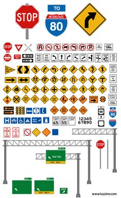 VectorRoadSigns
