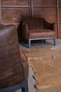 Arredi e complementi ispirati al vecchio West - Lounge e divano BLOSSOM di Potocco