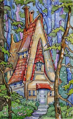 Cottage in the Wood   by cottagelover1953