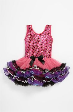 Popatu Sparkle Petticoat Dress (Toddler) | Nordstrom
