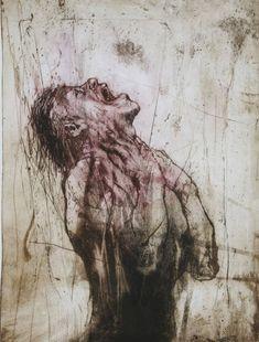 Dark Art Drawings, Art Drawings Sketches, Arte Horror, Horror Art, Arte Obscura, Creepy Art, Life Drawing, Figure Drawing, Gravure