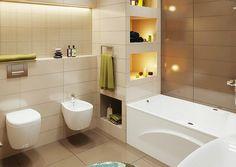 8 különböző, szép fürdőszoba design - ötletek és inspiráció