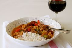 Healthy Gourmet Food,Cooking and Tips: Chicken and Andouille Étouffée