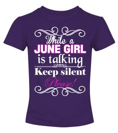 June girl   => Check out this shirt by clicking the image, have fun :) Please tag, repin & share with your friends who would love it. #mothers #mom #grandma #hoodie #ideas #image #photo #shirt #tshirt #sweatshirt #tee #gift #perfectgift #birthday #Christmas