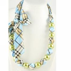 handmade satin knotted fabric scrap bead necklace jewelry supplier usa uk