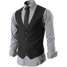 Mens Suit Vest ❤ liked on Polyvore featuring men's fashion, men's clothing, men's outerwear, men's vests, mens vest outerwear and mens vest