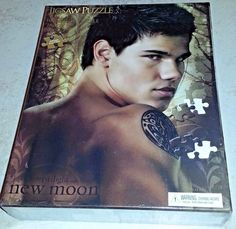 "Lot of 2 ""The Twilight Saga"" New Moon NECA 1000 Pc Jigsaw Puzzles Sealed 20""x27""  
