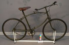 Collapsible bicycle Space Museum, Tricycle, Science And Technology, Antiques, Veil, Technology, Antiquities, Antique