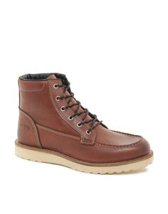 Jack & Jones Logger Moc Toe Boots