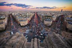 Photograph Magic hour over Paris by Saul Aguilar on 500px