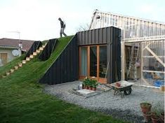 Image result for container homes underground