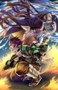 Check out our new Demon Slayer merch here at Rykamall now! Demon Manga, Manga Anime, Manga Dragon, Fanarts Anime, Otaku Anime, Anime Naruto, Anime Guys, Anime Characters, Cool Anime Wallpapers