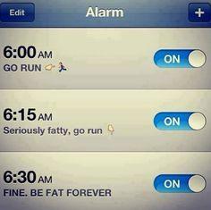 Fat alarm!