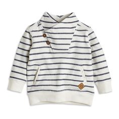 Striped Sweater, White, Baby 0-1 Year, Kids | Lindex