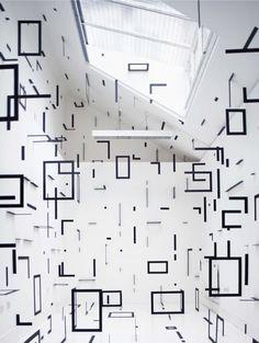 Esther Stocker — Installation