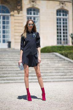 Daria Stroukus in Dior | Paris Couture Week 2015 #StreetStyle