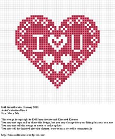 Design: Assisi Valentine Heart Size: 39w x 34h Designer: Kell Smurthwaite, Kincavel Krosses Permissions: This design is copyright to Kell Smurthwaite and Kincavel Krosses You may use, copy and/or s...