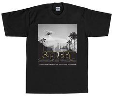 Streetwise 6th Street T-shirt Black LR MSRP $25