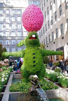 Rockefeller Center Easter Bunny, NYC
