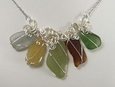 Beach Glass Necklaces