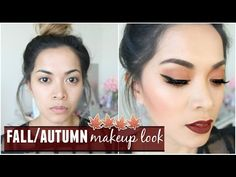 Fall/Autumn Makeup Look! Chit-Chat Talk Through Video! - YouTube