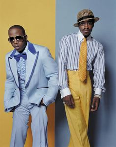 Outkast. I wonder what Andre's solo album is going to sound like. Probably unpredictable and awesome would be my guess.