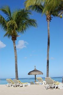 st croix...hey, they got my table already set up for me for my lunch on the beach..lovely <3