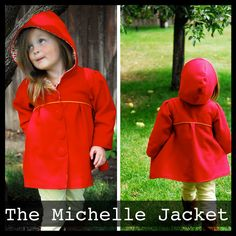 cute mid-weight jacket.  maybe a raincoat? The Michelle Jacket - Shwin Designs