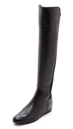 fall inspiration | @nordstrom #nordstrom wedge boots, sleek boot, leather boots, flat, riding boots